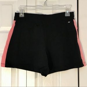 Athletic works peach and black medium shorts